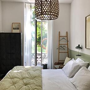 """""""Palmes"""" room casa musa nice"""