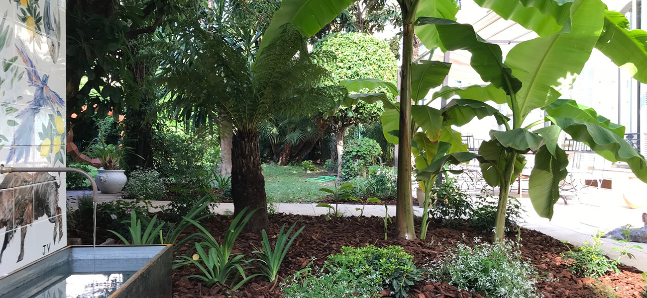 Jardin casa musa nice