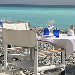 sélection plage privée nice casa musa